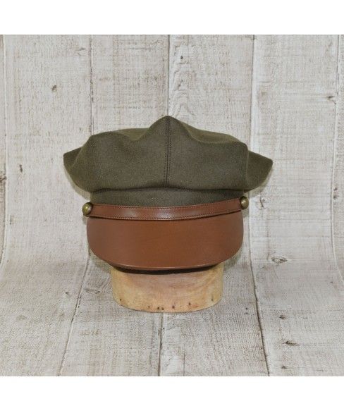 Cap Model British Khaki Officer
