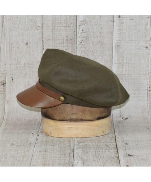 Cap Model British Khaki Officer