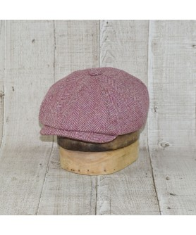 Cap Model Bakerboy Tweed Peaky Blinders Beige and Lyla