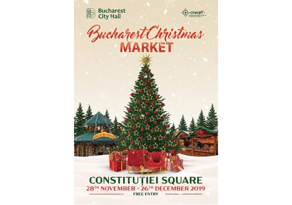 Ralitza workshop at the Bucharest Christmas Market 2019!
