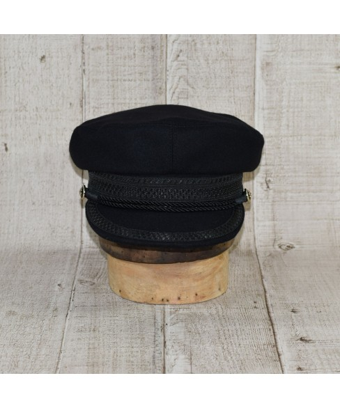 Cap Model Hamburg Skipper Black